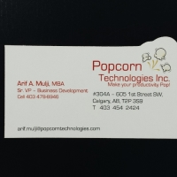 Special Shape Business Card