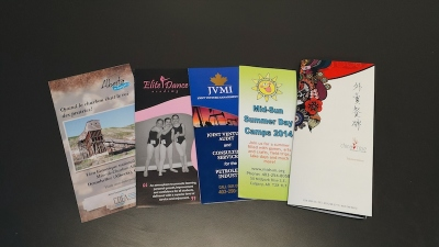 Brochure Printing by Minuteman Press Beltline in Downtown Calgary
