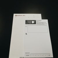 Branded Notepad and Prescription Pad