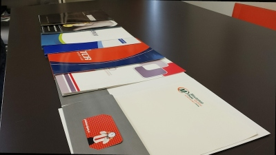 Presentation Folders Designed and Printed