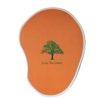Calgary Promotional Orange Mouse Pad
