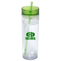 calgary promotional straw water bottle