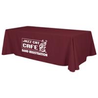 calgary promotional table cloths burgundy