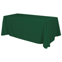 Green Table Throw