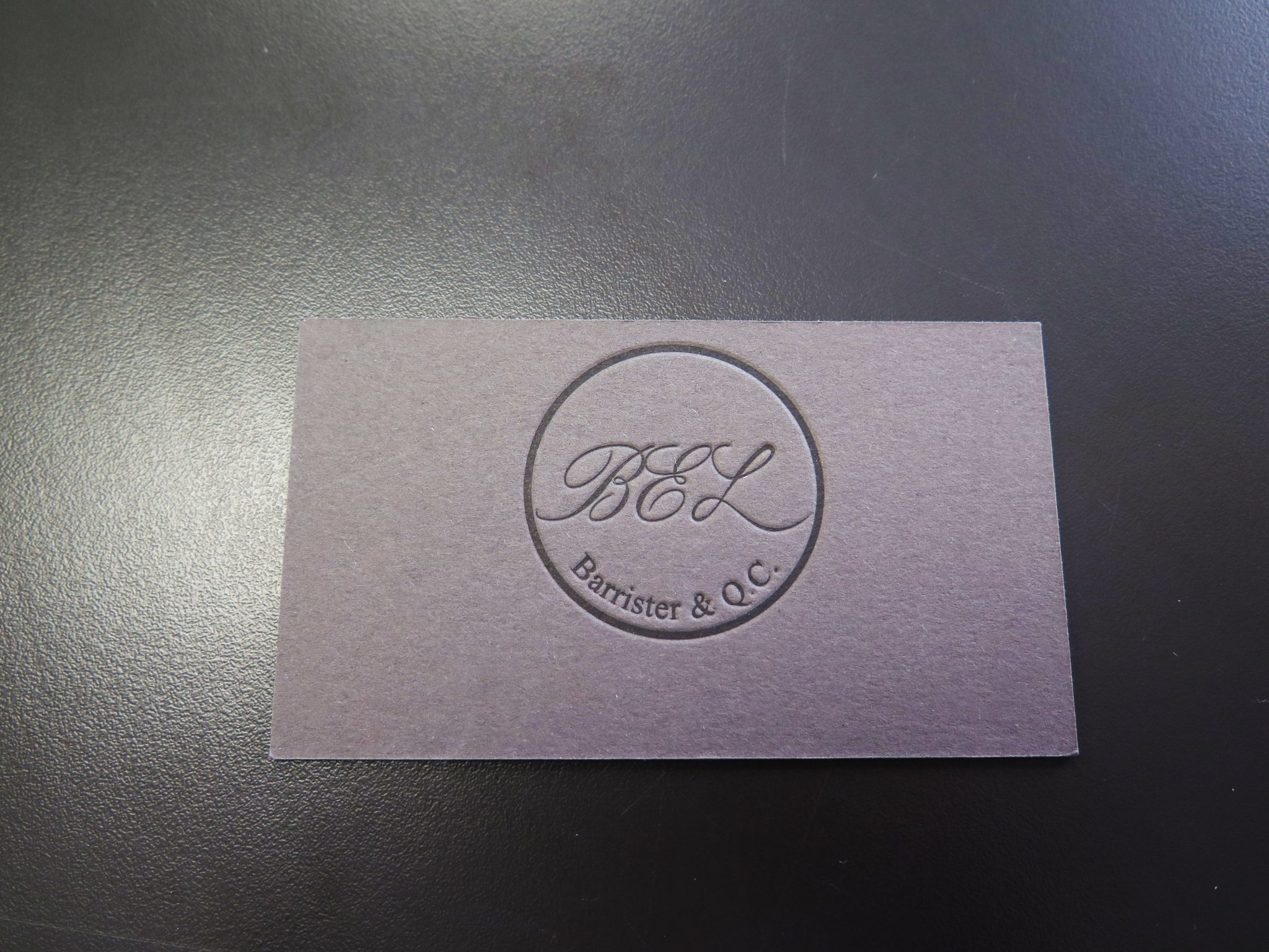 Letterpress business cards minuteman press letterpress business cards reheart Image collections