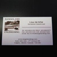 Offset Business Card