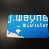 Offset Business Card