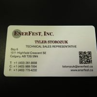 Digital Business Card with Rounded Corners