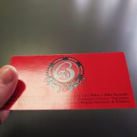 Raised Printing Business Card