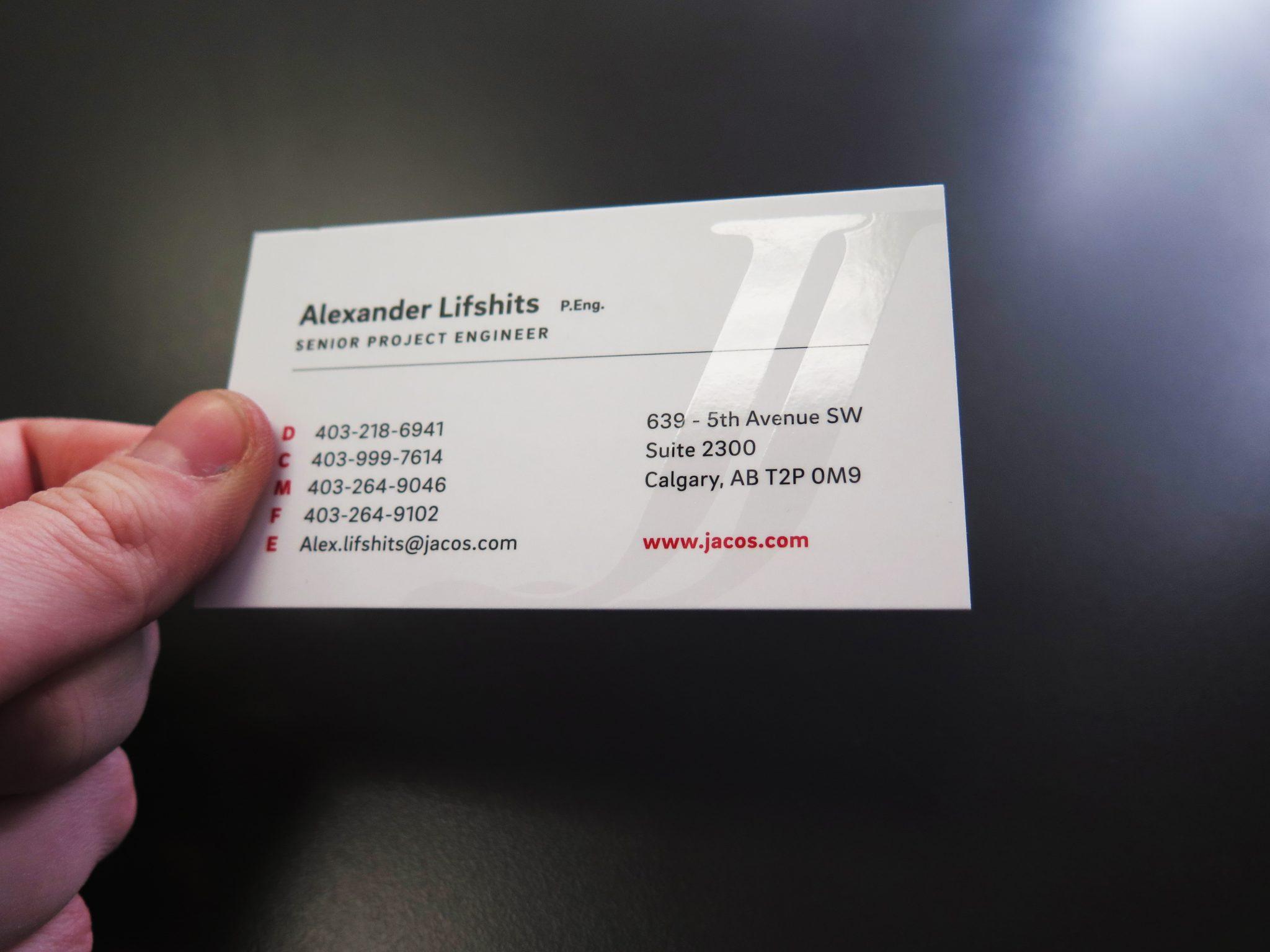 Raised Spot Uv Business Cards In Calgary Minuteman Press