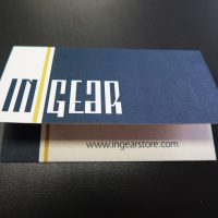 Die-Cut Business Card