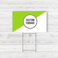 Stake Signs to Draw Attention to your Business or Event
