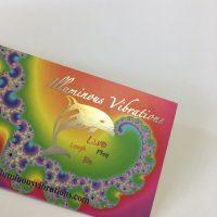 Multi-Colour Foil Business Card