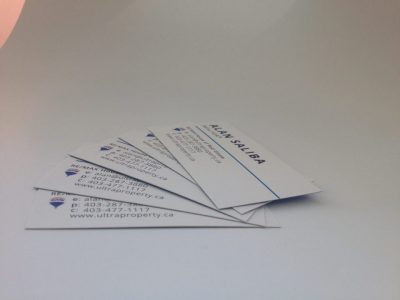 Minuteman Press does Silk Laminated Business Cards