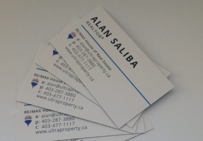 Silk Laminated Business Cards in Calgary - Minuteman Press Beltline