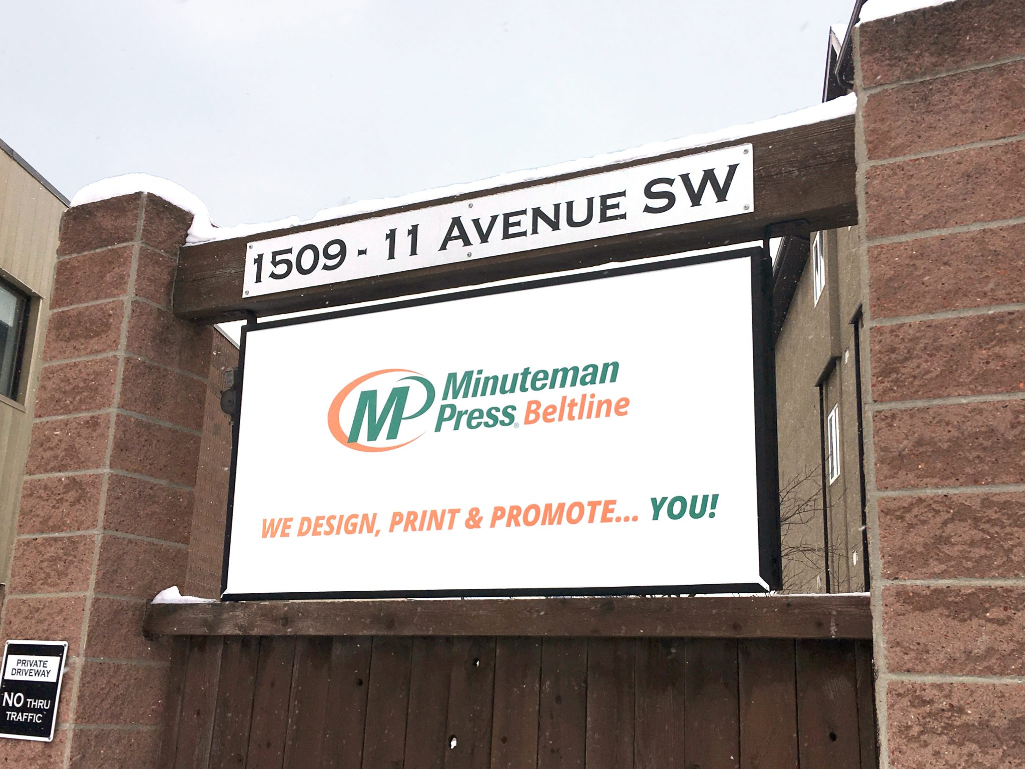 Backlit Signs - Signage Solutions by Minuteman Press Beltline Calgary