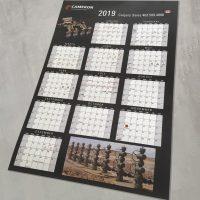 Calendar Wall Poster