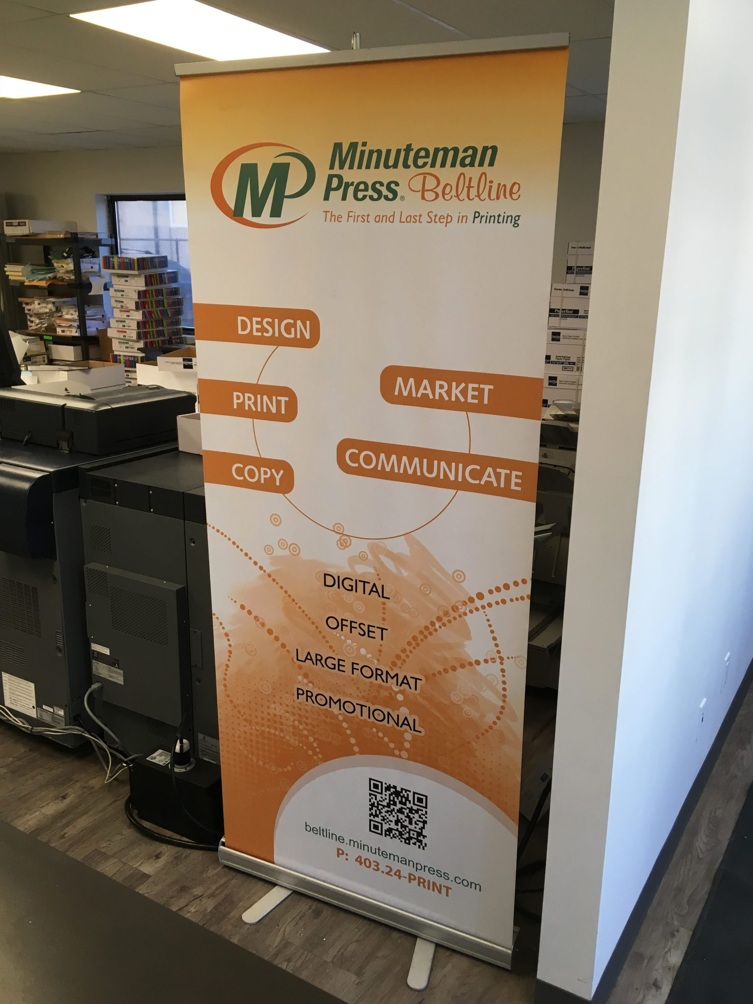 Roll Up Banner Styles By Minuteman Press Beltline In Calgary