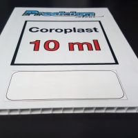 10ml Coroplast Sign