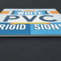 3mm White PVC Rigid Sign
