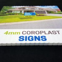 4mm Coroplast Sign
