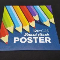 12pt C2S Board Stock Poster