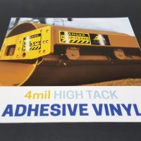 4mil High Tack Adhesive Vinyl