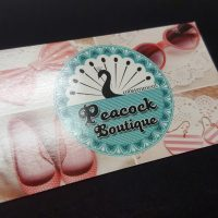 Business Card with Gloss Lamination