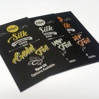 16pt Silk Laminated Cards with Foil