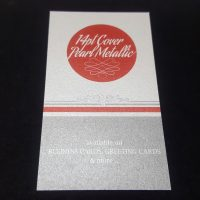 14pt Pearl Metallic Business Card