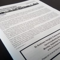 Saddle Stitched Newsletter Printing